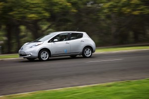 Nissan LEAF Tree Grows Stronger for Less Nissan LEAF Photo courtesy of Nissan