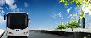 BYD K9 electric bus Image courtesy of BYD Beijing Pollution is Hazardous