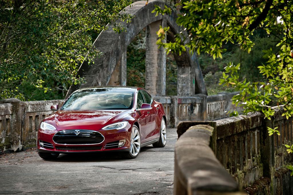Tesla Model S Photo courtesy of Tesla