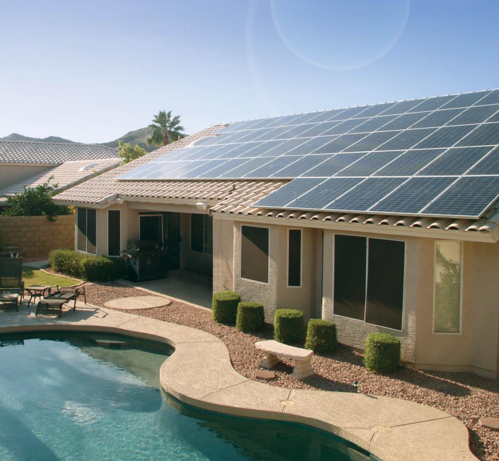 Photo courtesy of Solar City