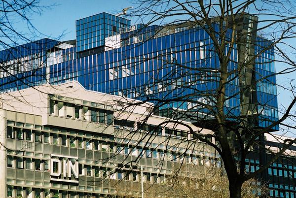 DIN (Deutsches Institut für Normung e. V.) HQ, Berlin (German Institute for Standardization) Photo courtesy of DIN