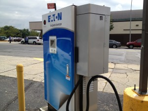 7-Eleven DC Fast Charger 2 Photo courtesy of Green Charge Networks