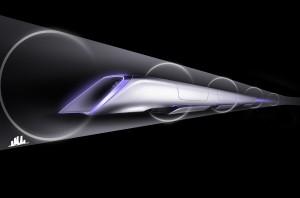Hyperloop design Photo courtesy of Tesla
