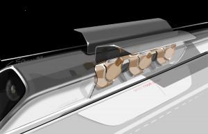 Hyperloop design Image courtesy of Tesla