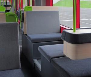 Alstom's Citadis tramway. Interior. Copyright: Alstom Transport / L.De.Serres Photo courtesy of Alstom