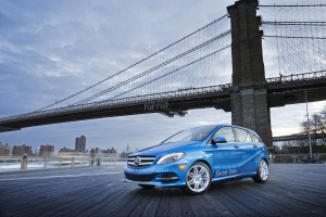 2014 B-Class Electric Drive. Photo courtesy of Mercedes-Benz