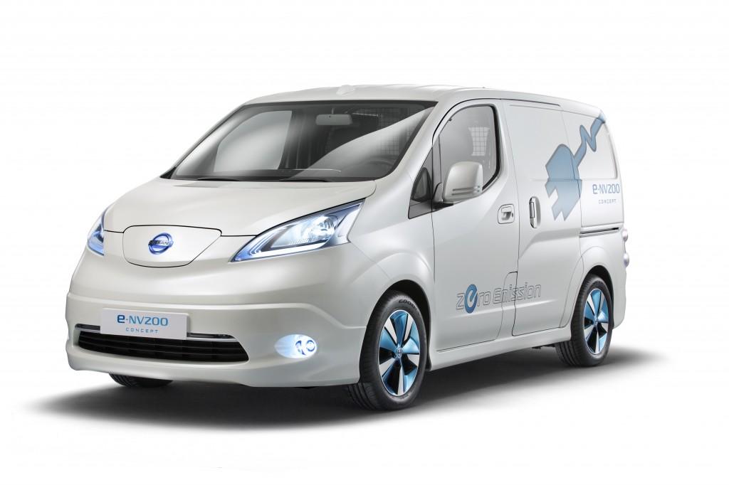 Nissan e-NV200 Zero Emission Van Image courtesy of Nissan