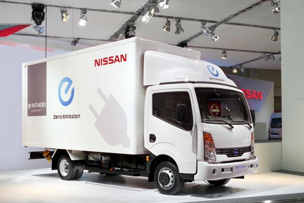 Nissan e-NT400 Image courtesy of Nissan
