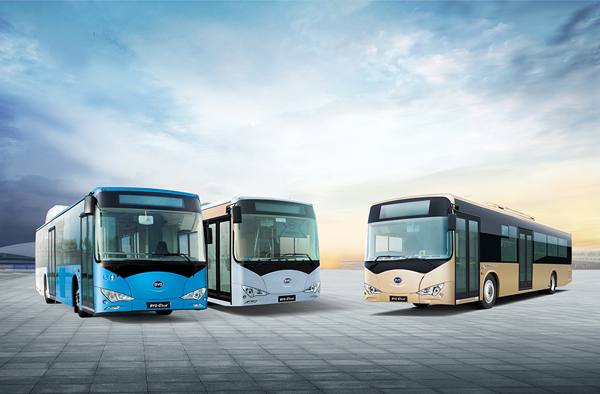 BYD Electric Bus Image courtesy of BYD