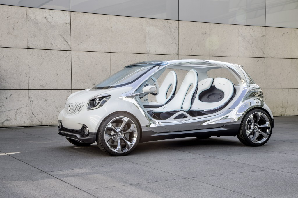 Electric smart fourjoy  Image courtesy of Daimler