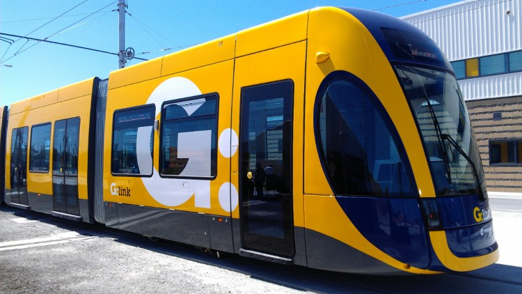 Bombardier FLEXITY 2 tram for Gold Coast  Image courtesy of Bombardier