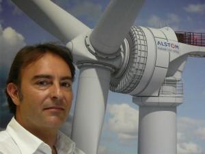 Alstom's Offshore Wind Platform Director, Daniel Castell Photo courtesy of Alstom