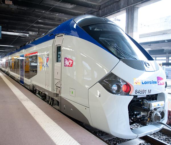 Regiolis train, Lorraine Photo courtesy of Alstom