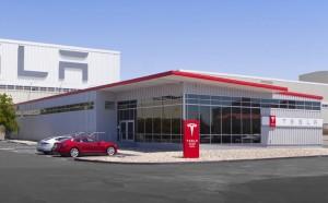 New Tesla Store  Fremont Factory Store Photo courtesy of Tesla