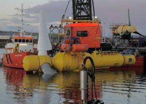 Tidal Power Scotland Photo courtesy of Alstom