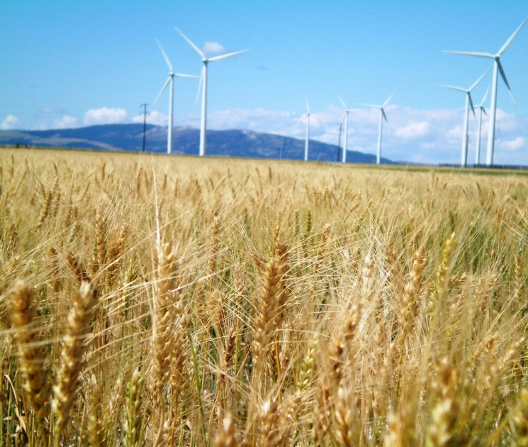 Photo courtesy of Idaho National Laboratory Wind Energy Program