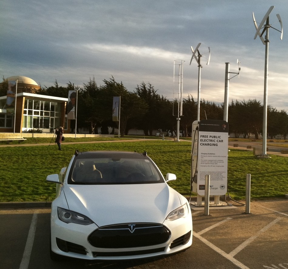 Tesla Model S, San Francisco