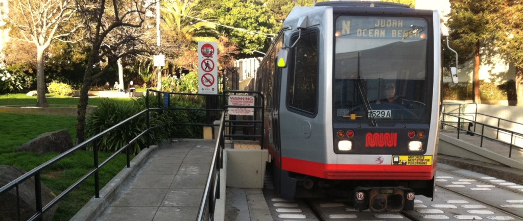 San Francisco's N Judah Streetcar splits the City, running on the east-west axis. EV News Report took a quick 3 question survey of 50 Muni transit riders. This survey was composed of 26 females and 24 men, ranging in ages from 21 to 80, waiting at streetcar and bus stops, primarily in Cole Valley, San Francisco: An electric streetcar and bus arrive at the same time heading to your destination (hypothetically), which would you choose to ride? 42 Streetcar, 8 Bus Did you know that trolley buses and streetcars run on 100% renewable hydro power? 28 No, 22 Yes Would you prefer to ride a 100% renewable powered vehicle? 50 Yes, 0 No