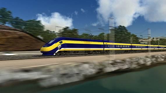 Image courtesy of California High Speed Rail Authority