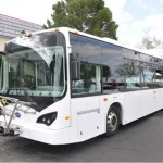 California Governor Jerry Brown Helps BYD Showcase Its Breakthrough Battery Technology During Unveiling Of State's First Ever Long-Range Electric Bus Factory In Lancaster, California