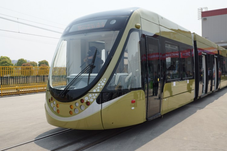 Tram based on FLEXITY 2 technology  Photo courtesy of Bombardier
