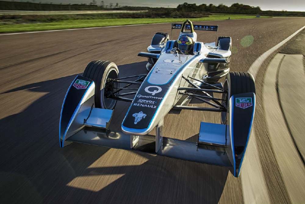 Photo courtesy of Formula E