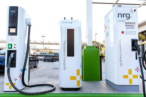 The ChargeNow DC Fast program offers BMW i3 EV drivers in California unlimited, no cost 30 minute DC fast charging, at NRG eVgo Freedom Station® sites equipped with DC Combo Fast Charging, through 2015. Photo courtesy of NRG
