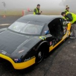 Students successful in electric car world record attempt (University of New South Wales)