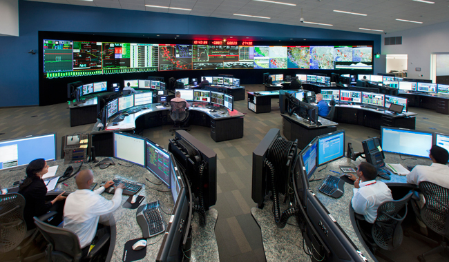 Folsom Control Room Image courtesy of CalISO