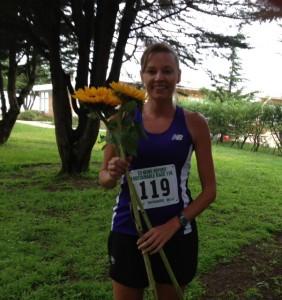 Female Winner Diane Heiser 43:13.45