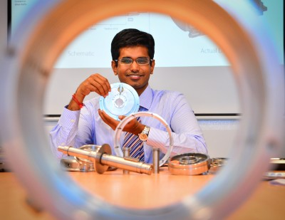 New Motor Design for Electric Cars Photo courtesy of NTU