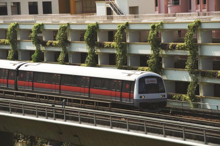 Image courtesy of Singapore MRT