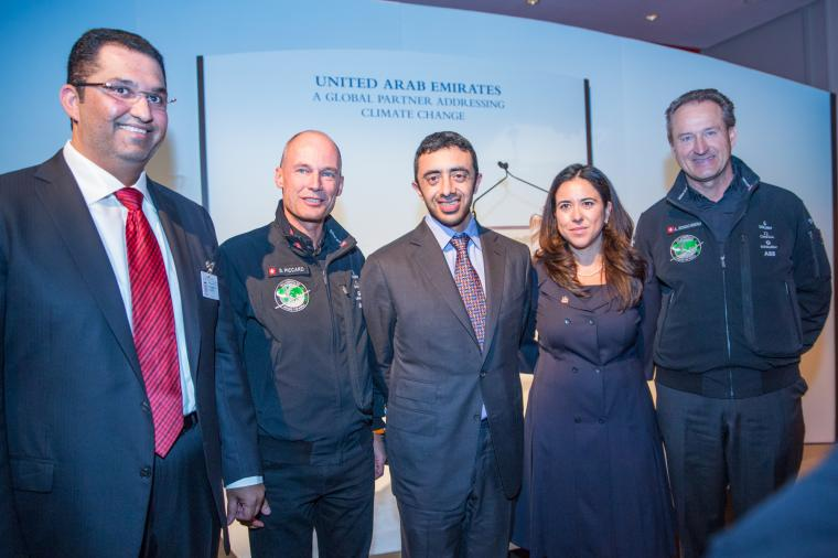 Abu Dhabi named Host City of Solar Impulse for the First Round-The-World Solar Flight; Masdar Host Partner in this pioneering venture