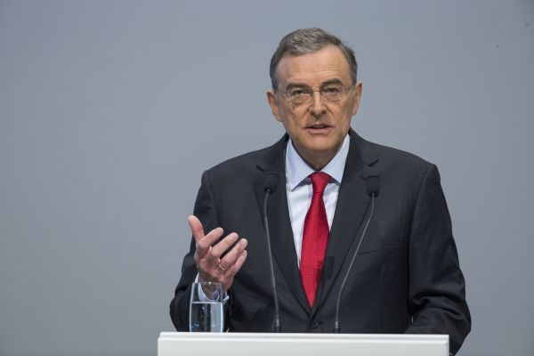 Dr. Norbert Reithofer, Chairman of the Board of Management of BMW AG, speaking at 94th Annual General Meeting BMW AG (5-15-14)