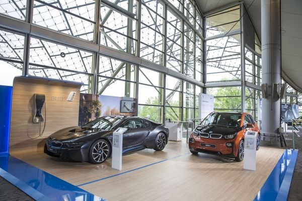 BMW i8 and BMW i3