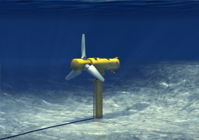 Alstom improves the performance of its tidal energy solutions with Oceade™ 18 – 1.4MW