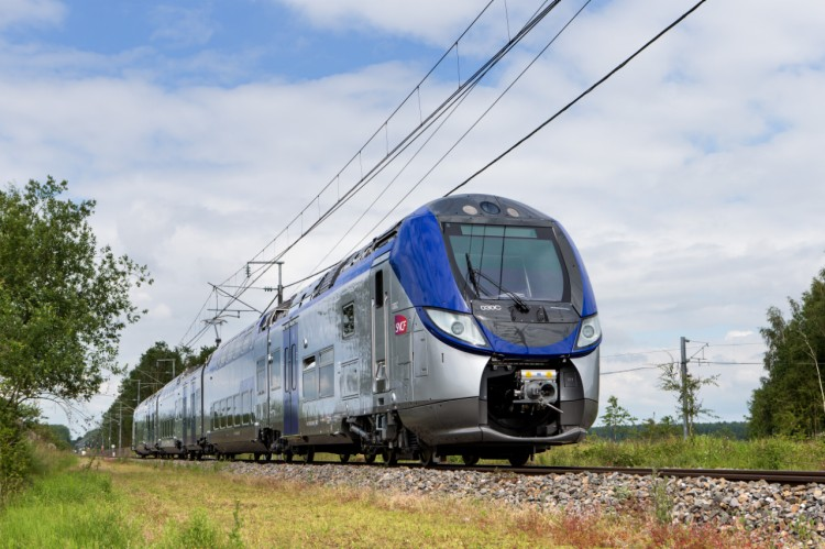 The Bombardier Regio 2N double deck train for SNCF in France  Photo courtesy of Bombardier