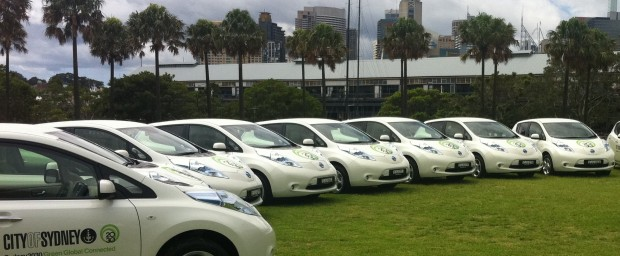 Sydney's fleet cleans up at top green awards Photo courtesy of City of Sydney