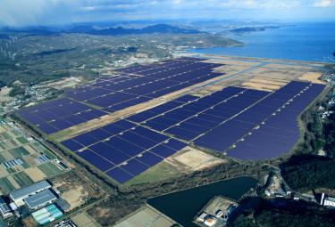 Japan's Largest Solar Power Project Funded With Market-Leading Investment by GE and Toyo Engineering