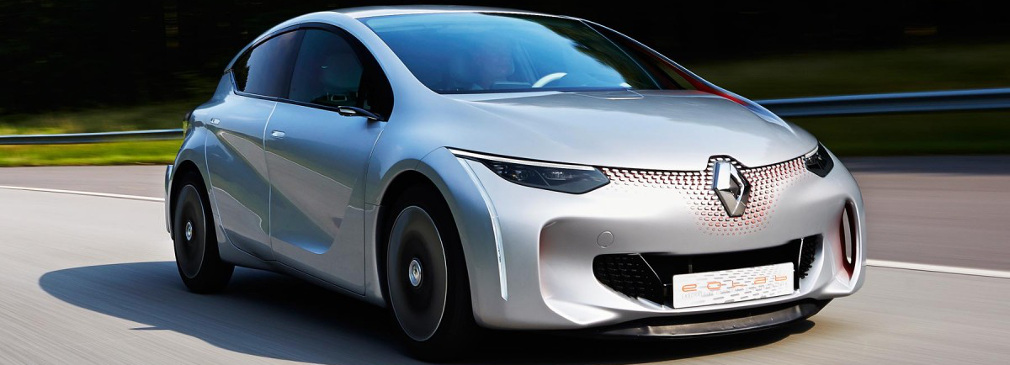 Renault Eolab concept Image courtesy of Formula E