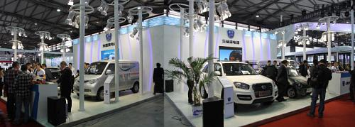 ZAP and Jonway Auto Exhibits EV Product Line at China International Industry Fair This Week  Photo courtesy of ZAP