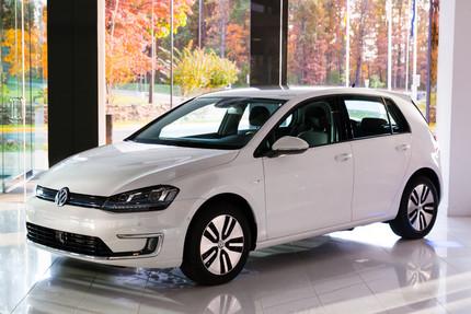 Volkswagen E-Golf Raises Money to Benefit Global Green USA  Photo courtesy of Volkswagen