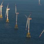 All wind turbines installed at Nordsee Ost offshore wind farm